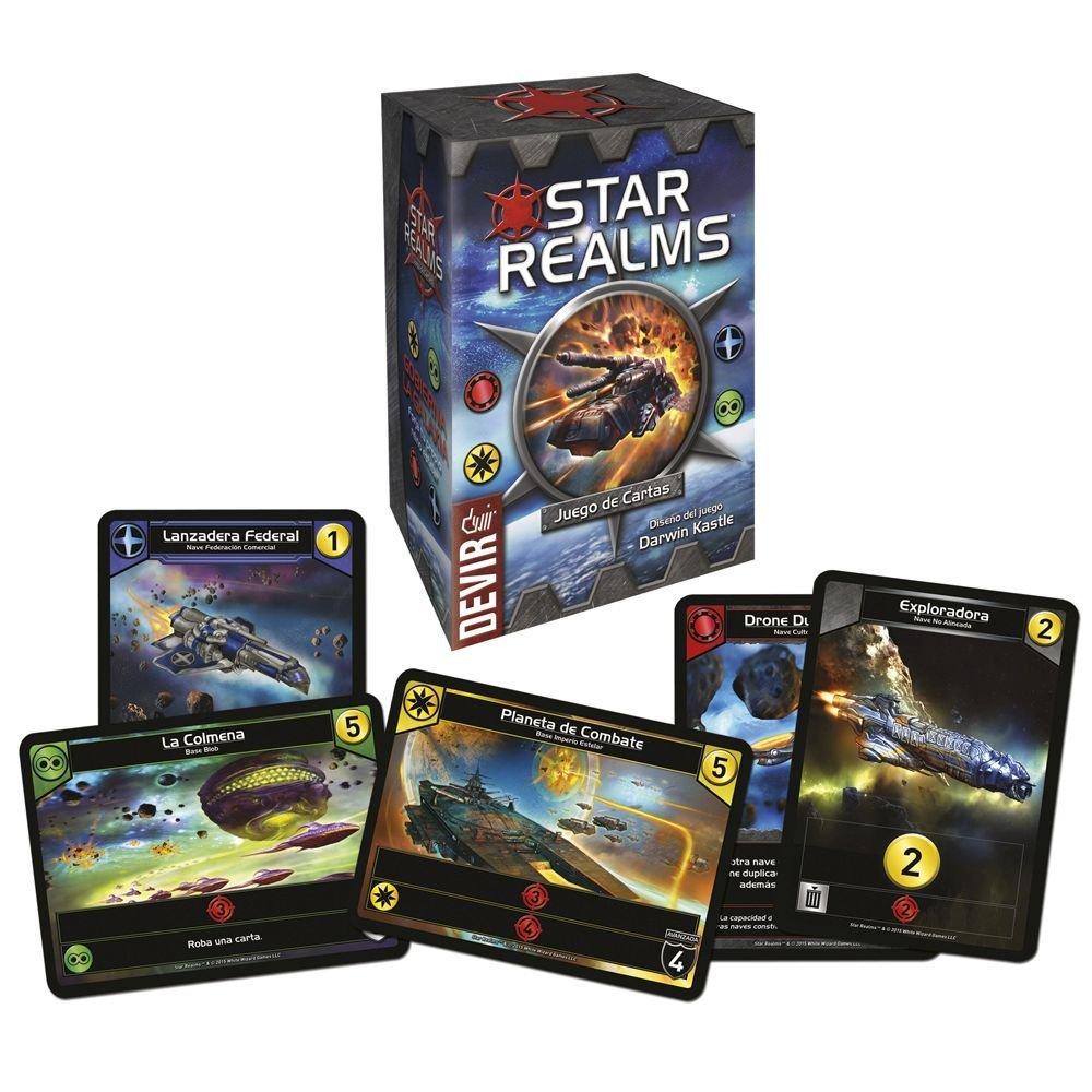 Devir- Star Realms, Juego de Mesa en Castellano, Miscelanea (222678): Amazon.es: Juguetes y juegos
