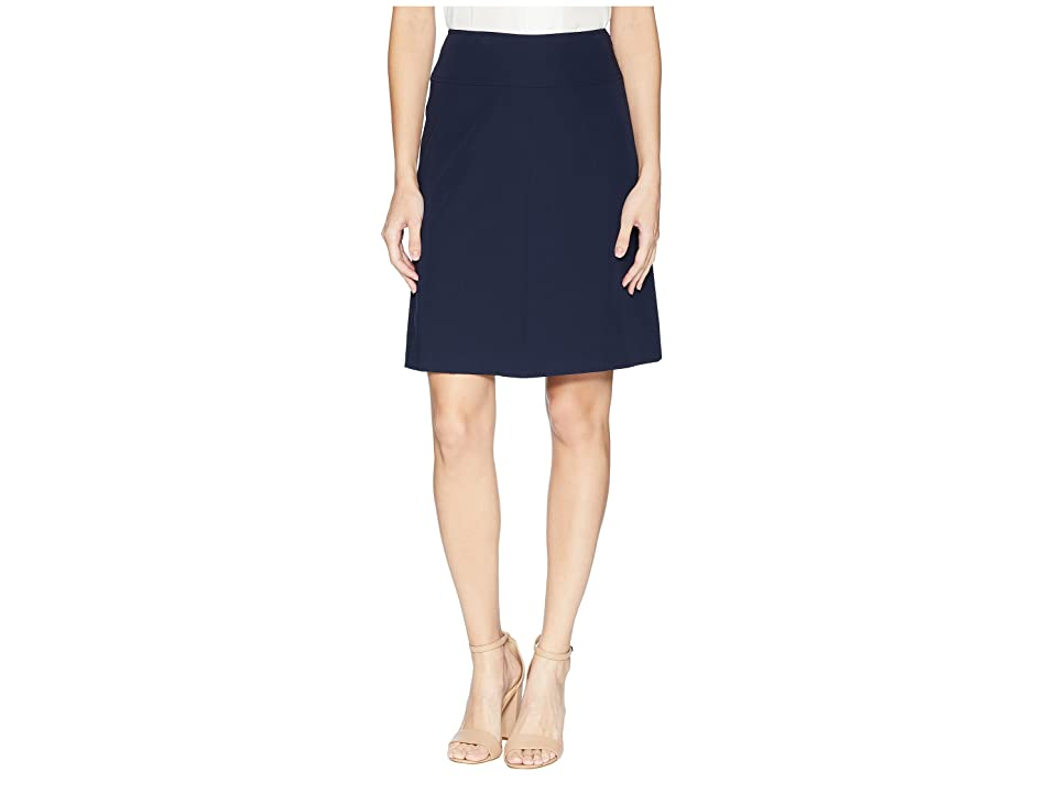 Tommy Hilfiger Flare Skirt (Midnight) Women