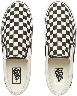 Classic Slip On (Gum Block) Checkerboard,Size 10 M US Women / 8.5
