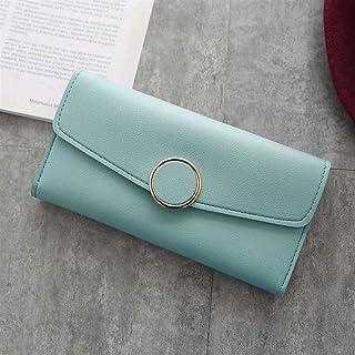 GUMAOPAJIAAAqb Monederos de Mujer, Women Long Wallets Purses Luxury Round Shap Wallets For Ladies Girl Money Pocket Card H...