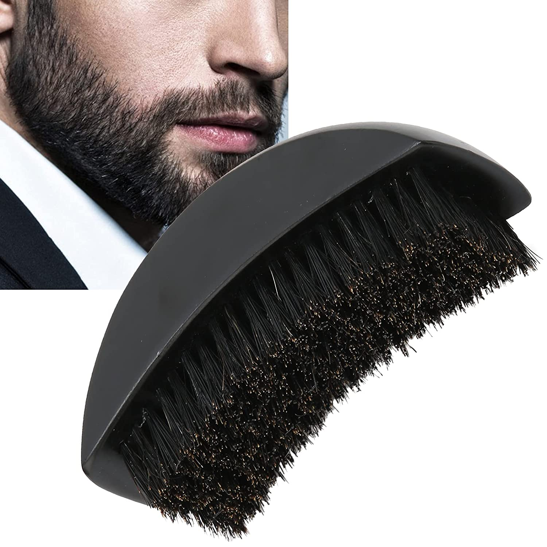 4 years warranty Handle Beard Brush Ergonomic San Antonio Mall Styling Tool Grooming