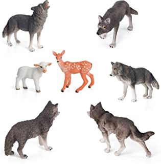 Best wolf family toys Reviews