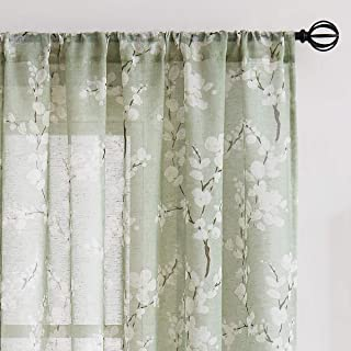 Best pea green curtains Reviews