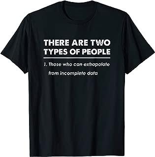 Extrapolate Data Nerd T-Shirt Gift
