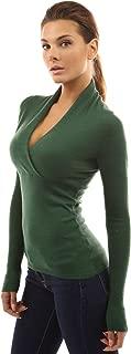 PattyBoutik Women V Neck Empire Waist Knit Top