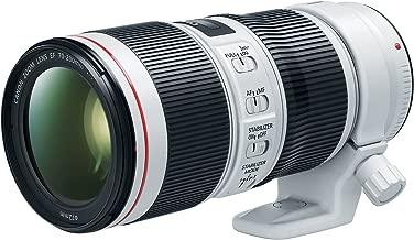 Canon EF 70-200mm f/4L is II USM Lens for Canon Digital SLR Cameras, White - 2309C002