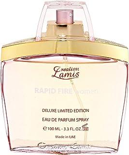Deluxe Rapid Fire by Creation Lamis for Women - Eau de Parfum, 100ml