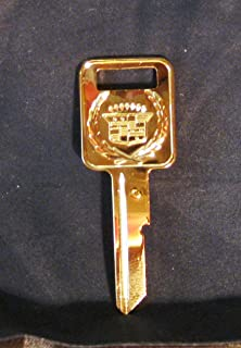 gold plated cadillac keys