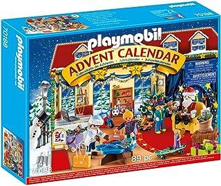 """PLAYMOBIL Christmas 70188 Kalendarz adwentowy """"Boże Narodzenie w sklepie z zabawkami"""", od 4 lat"""