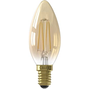 LED Gold Dimmable Filament Candle Lamp