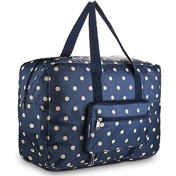 Unisex Travel Duffels Gym Bag Cat Kitten Dot Heart Canvas Weekender Bag Shoulder Bag Totes bags