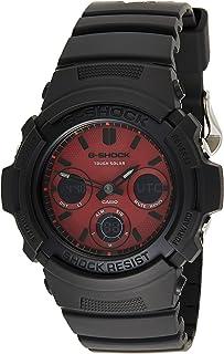 ساعة كوارتز بعرض انالوج-رقمي وسوار من الراتنج للرجال من كاسيو - AWR-M100SAR-1ADR