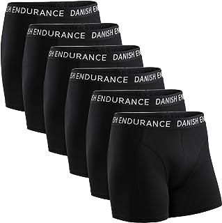 DANISH ENDURANCE Men's Cotton Trunks, Stretchy Soft,
