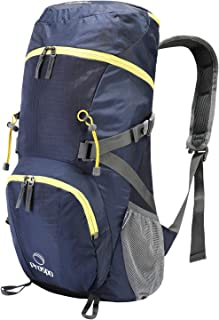 Prospo Ultra Lightweight Large Compact Shoulder Packable Backpack Travel Daypack Foldable Bag 40L+ for Backpacking Hiking Camping Trekking Mountaineering