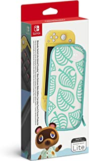 Nintendo Switch Lite Animal Crossing: New Horizons Aloha EditionCarrying Case & Screen Protector
