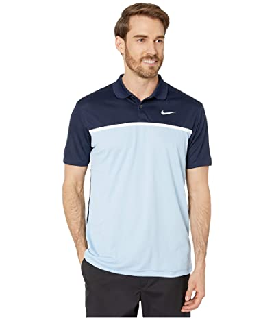 Nike Golf Dry Victory Polo Solid (Sky Grey/White) Men