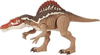 Jurassic World Extreme Chompin' Spinosaurus Dinosaur Action Figure, Huge Bite, Authentic Decoration, Movable Joints, Ages ...