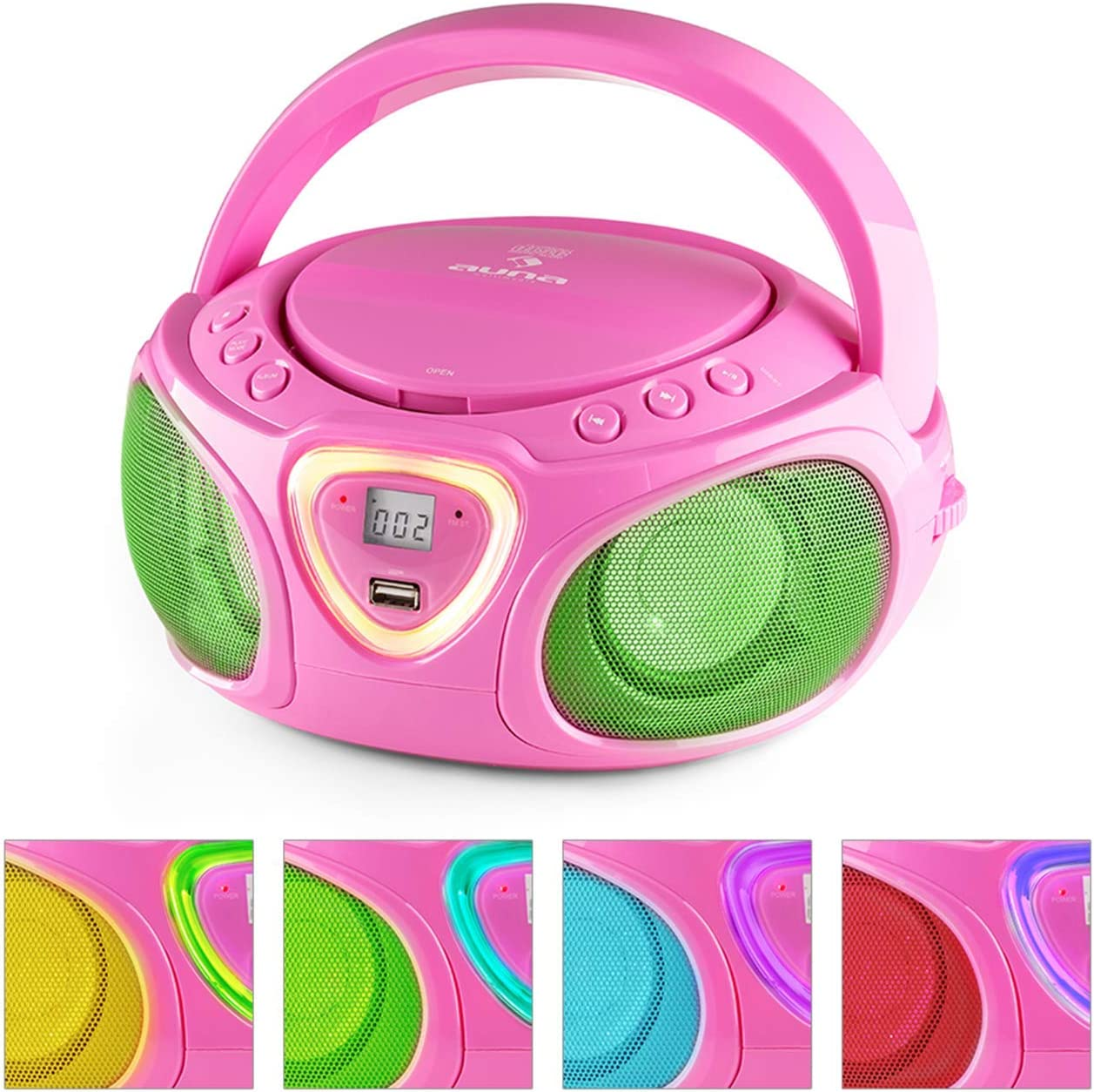 auna Roadie Sales for sale • Kids Portable Boombox with Player and Radi In a popularity CD