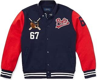 POLO RALPH LAUREN Boy's Polo Bear Baseball Jacket