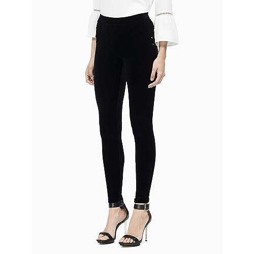 59a55b7a279 Calvin Klein Women s Stretch Velvet Legging