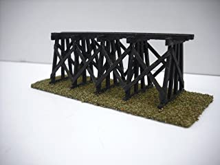Train Time Laser N Scale Custom Laser Cut Trestle Bridge Kit