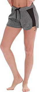 Workout Shorts for Women - Activewear Exercise Athletic Running Yoga Shorts