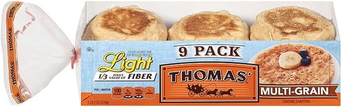 Thomas' English Muffins, Multi-Grain (18 oz. ea. 9 pk.)