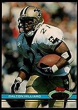 Football NFL 1991 Stadium Club #34 Dalton Hilliard Saints