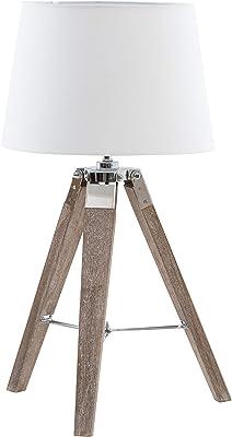 HomCom Lámpara de Pie Moderna con Trípode Altura Ajustable ...