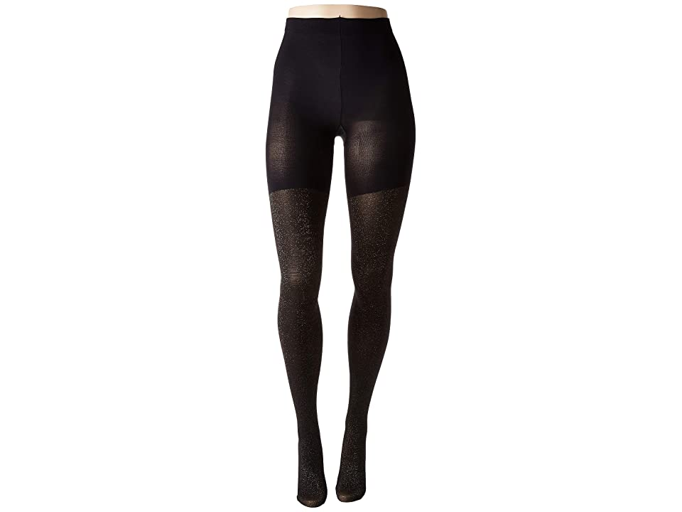 Spanx Metallic Shimmer Mid-Thigh Shaping Tights (Gold Shimmer) Hose