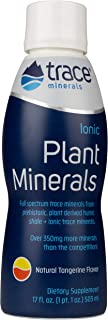 Trace Minerals Liquid Ionic Plant Minerals, 17 oz, 102 servings!, humic shale, full-spectrum, Magnesium, Made in the USA
