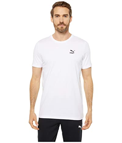PUMA Streetwear Graphic Tee (Puma White/Puma Black) Men