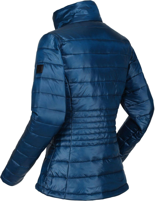 Mujer Regatta Lustel Chaqueta Acolchada Tejido Ligero con Aislamiento Y Bolsillos con Cremallera Baffled//Quilted Jackets