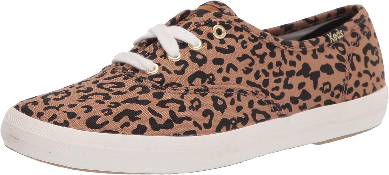 Keds Women's Champion Leopard New Lifestyle Sneaker