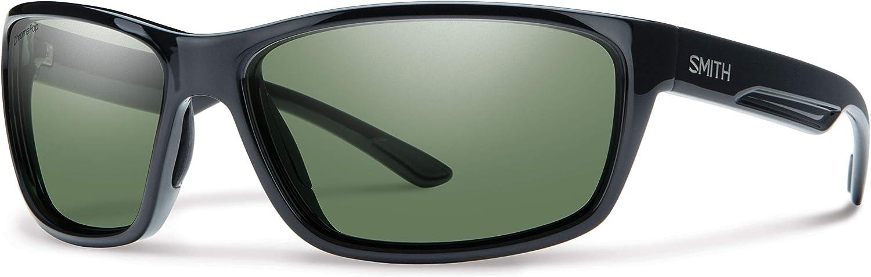 Smith Optics Redmond Chromapop+ Polarized Sunglasses, Black, Gray Green Lens, One Size (Pack of 5)