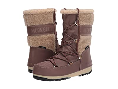 MOON BOOT Moon Boot(r) Monaco Wool Mid (Mud) Women