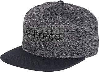 قبعات NEFF رجالي شبكية هوائية قابلة للتعديل، مقاس واحد، فحمي