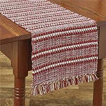 Park Designs Peppermint Stripe Table Runner 13X54