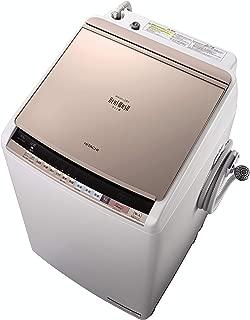日立 タテ型洗濯乾燥機 ビートウォッシュ 9kg スリムタイプ BW-DV90B N