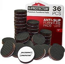 Meubelpads X-PROTECTOR - Antislippads - Premium 36 stuks 25 mm - Vloerbeschermers - Rubberen voetjes voor meubelpoten - Id...