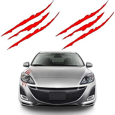 FENRUI Adesivi per Specchietto Retrovisore per Auto 2pc per Opel Opc Zafira Corsa Insignia Mokka Regal Astra Vectra Antara Meriva Decalcomania Sportiva A Strisce Laterali