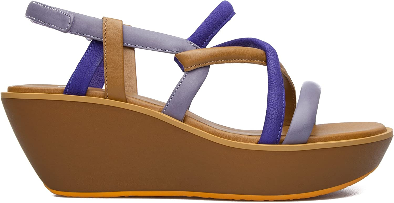 Camper Women's Damas Strappy Sandal Wedge Sandal