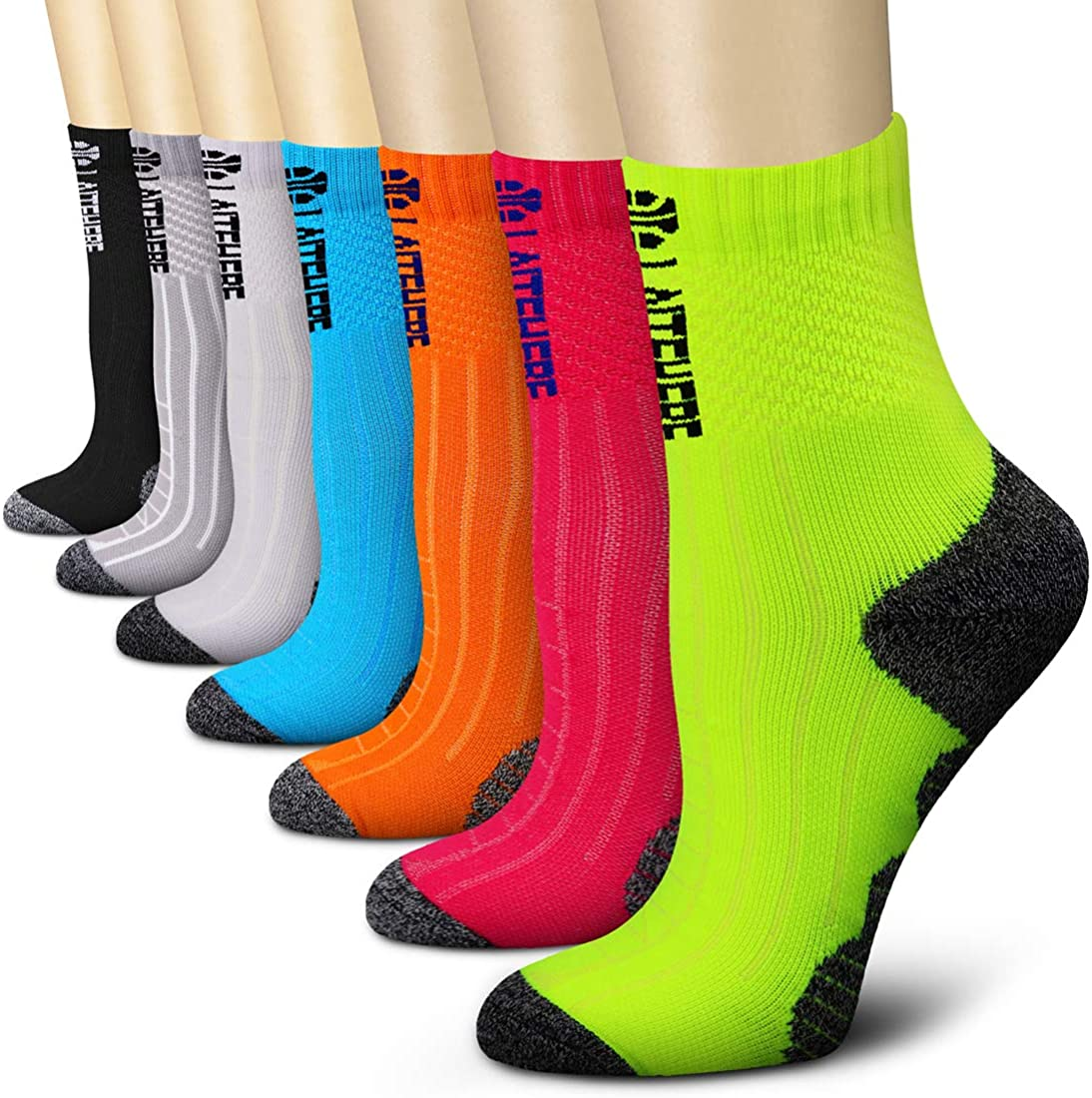 CHARMKING Compression Socks for Women Free shipping on posting reviews Men 7 6 Max 60% OFF P 3 Circulation
