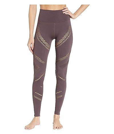 ALO High-Waist Seamless Radiance Leggings (Raisin) Women