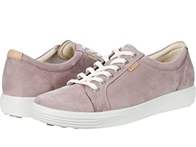 ECCO Soft 7 Sneaker (Woodrose) Women
