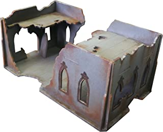 Frontline Gaming - ITC Terrain - Gothic Ruins: House - Tabletop Miniatures Wargame 28mm Scenery Terrain