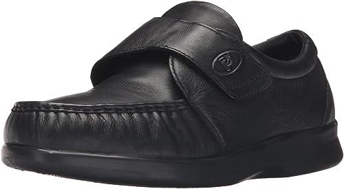 Propet - Mocasines de Piel para Hombre schwarz schwarz, Farbe schwarz, Größe 48