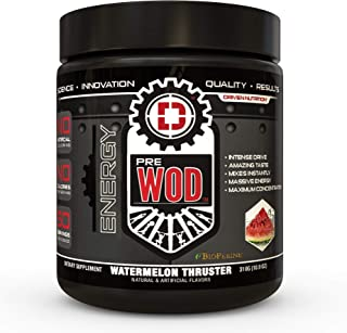 crossfit pre wod supplement