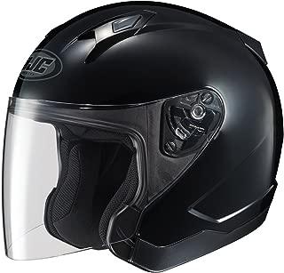HJC CL-JET Open-Face Motorcycle Helmet (Black, Medium)