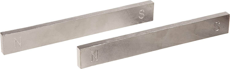 American Educational non verniciata cromo Magnet bar, 2 Piece Unpainted, 1